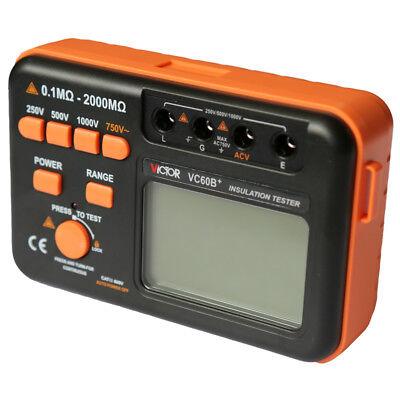 Vc60b Digital Insulation Resistance Tester Megger Megohm Meter