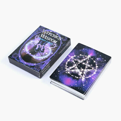 Witches Wisdom Oracle Cards 47-Card Deck