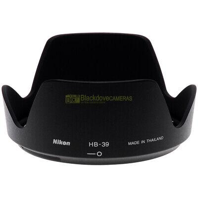 Nikon paraluce HB-39 per AF-S 16/85mm f3,5-5,6 e 18/300mm f3,5-6,3 VR ORIGINALE