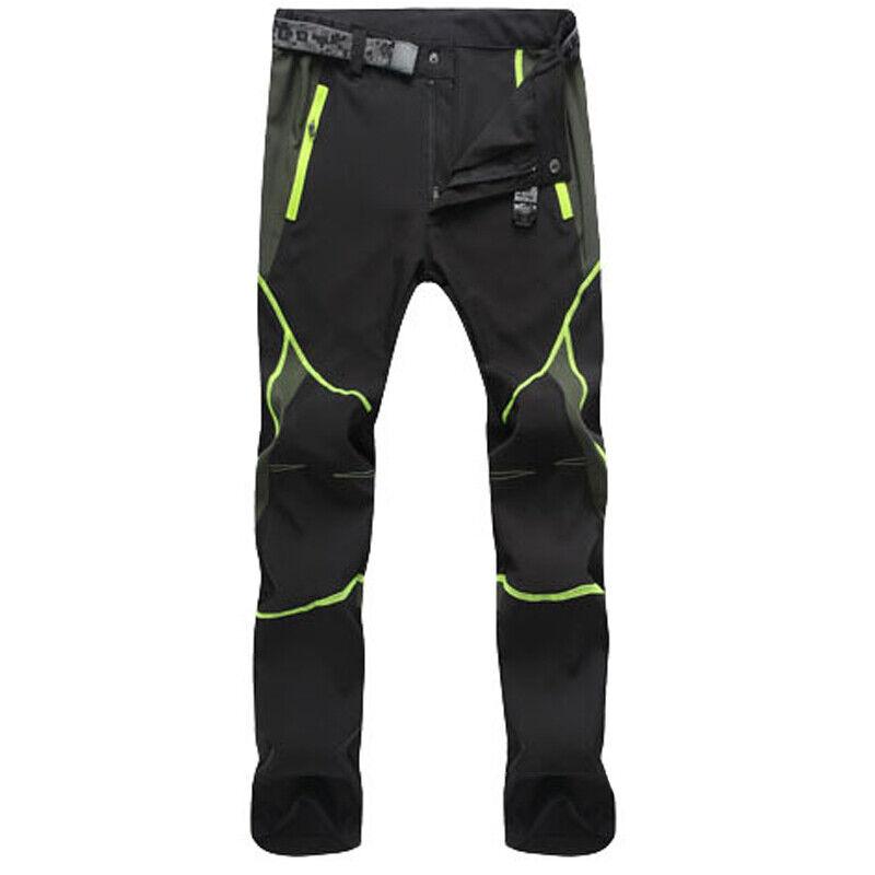 Mens Tactical Trousers Hiking Walking Combat Long Pants US
