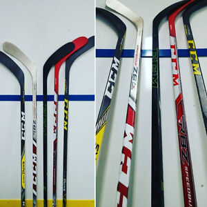 Refurbished hockey sticks - Trigger, Super Tacks, 1X, 1N... Peterborough Peterborough Area image 3