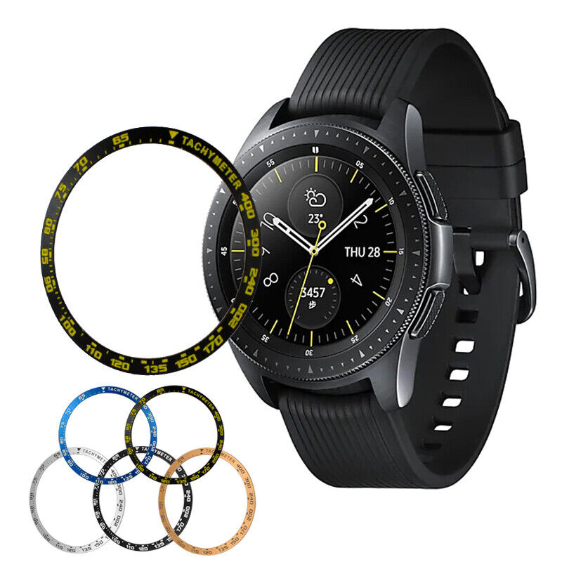 For Samsung Galaxy Watch 42/46mm Bezel Styling Frame Ring Case Metal Cover