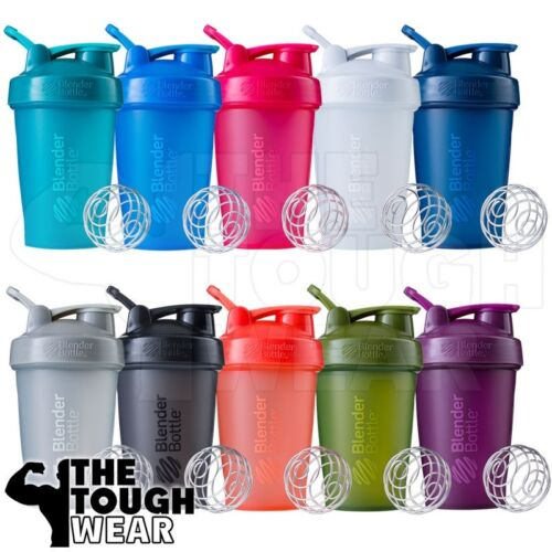 Blender Bottle Classic 20oz Shaker Cup SportMixer - NEW FULL