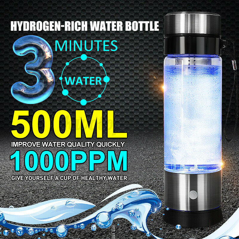 500ml portable hydrogen rich water maker cup