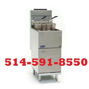 ***SPECIAL** PITCO FRITEUSE NEUF , BRAND NEW FRYER 115,000BTU