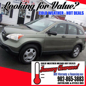 2007 Honda CR-V LX AWD Super Clean Only 165K NO RUST
