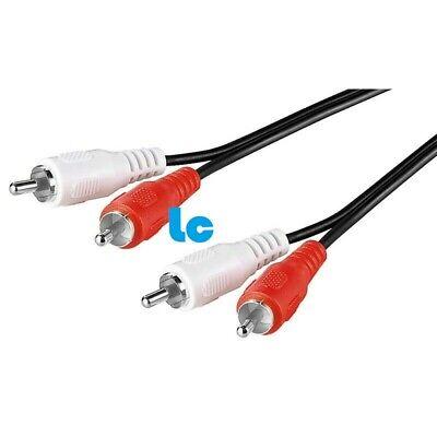 Cable Audio - 2 x RCA Macho A 2 x RCA Macho...