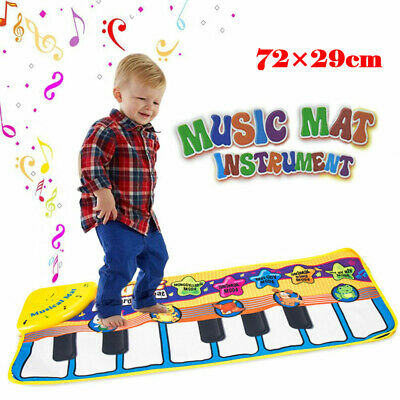 Musical Music Kid Piano Play Baby Mat Animal Educational Soft Kick Toy US