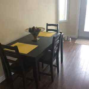 Kitchen table set (table and 4 chairs)