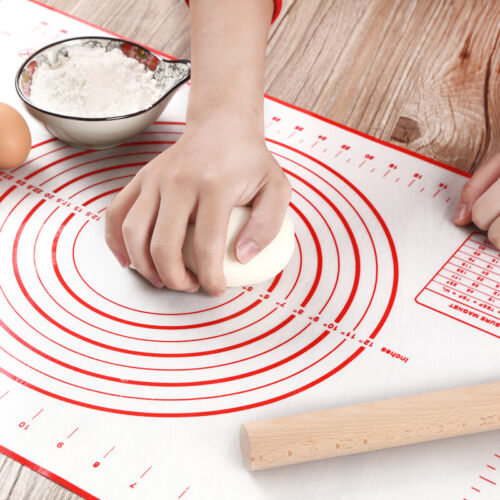 Silicone Nonstick Cut Baking Mat Fondant Pastry Mat Tools Cooking Kitchen T4L4