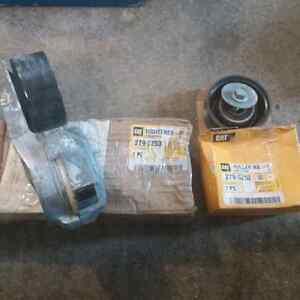 Cat C15 belt tightener & pulley