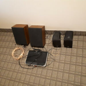 Selling JVC speakers with two subwoofers