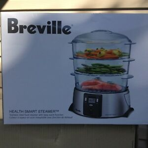 BREVILLE HEALTH SMART STEAMER BFS600XL