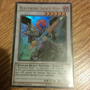 yu-gi-oh Blackwing Armed Wing LC5D-EN133