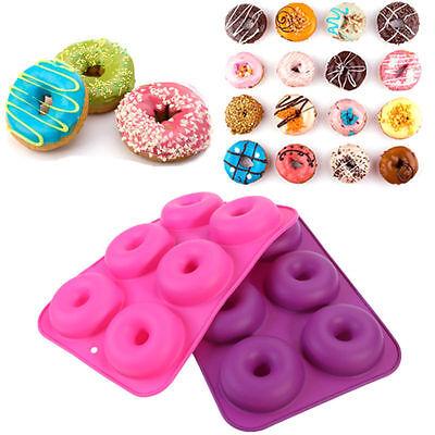 2er Silikon Donut Backform Muffinförmchen Kuchenform Kuchen Schimmel 2 Farben