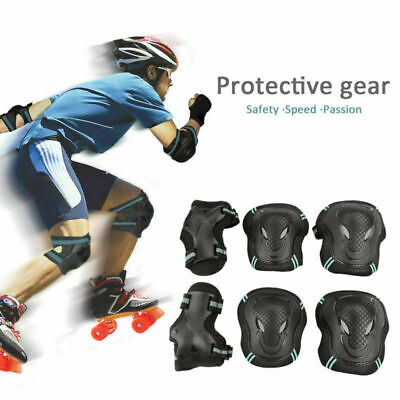 US 6pcs Kids Adult Outdoor Sport Rollerblade Protective Gear Skating Cycling Set