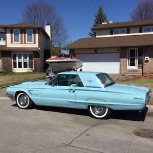 "BEAUTIFUL ""1965 FORD THUNDERBIRD"" (CERTIFIED)"
