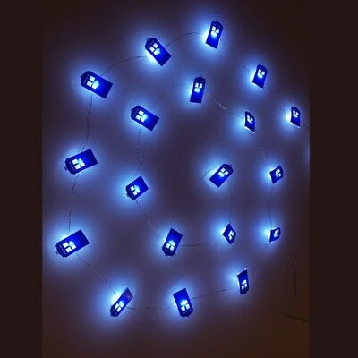 Doctor Who TARDIS LED Fairy Light Set - 20 Lights