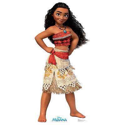 MOANA Disney Princess Lifesize CARDBOARD CUTOUT Poster Standee Standup FREE SHIP