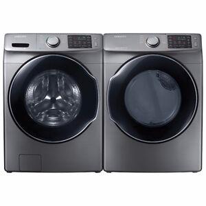 Samsung WF45M5500AP 2017 Washer & Dryer Pair, only $1790.00!