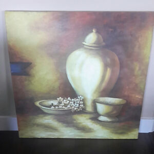 Oil painting canvas