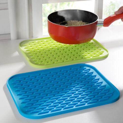 Baking Gadget Kitchen Pan Table Mat S 1Pc Silicone Kitchen Trivet Pot Tray Mat