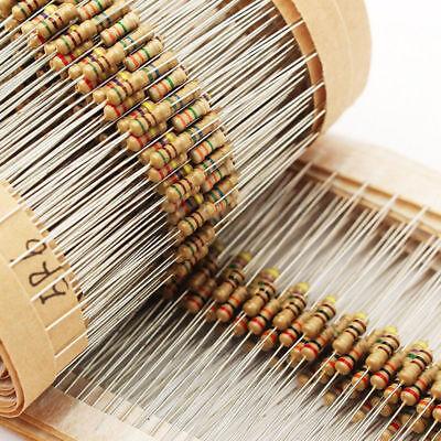 1500pcs 14w 75values Carbon Film Resistor Assorted Kit Set 1 Ohm 10m Ohm 5