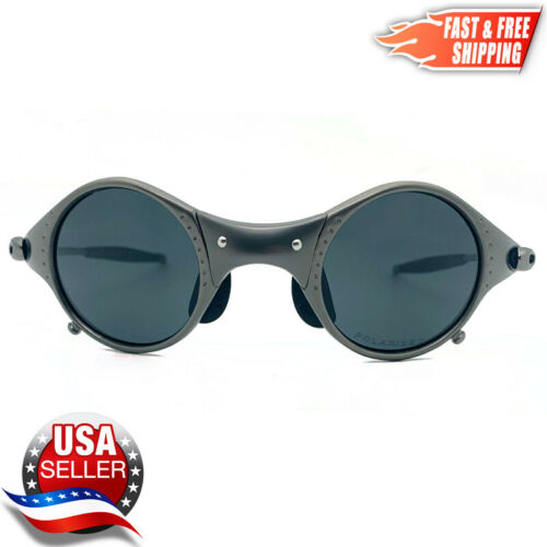 MARS Metal Frame X Sunglasses with Polarized UV400 Black Iridium Lenses - USA