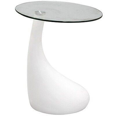 Modway Furniture Eei-564-Whi Teardrop Side Table, White New