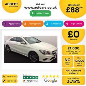Mercedes-Benz CLA Sport FROM £88 PER WEEK!