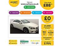Mercedes-Benz CLA Sport FROM £88 PER WEEK!