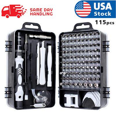 usa magnetic screwdriver bit set for iphone/macbook tool kit set 117pcs