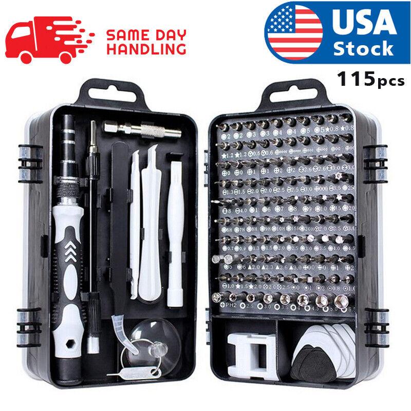 usa magnetic screwdriver bit set for iphone/macbook tool kit set 117pcs Hand Tools