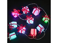 Battery Operated 10 Gift Box Lights With 10 Colour-Changing LEDs