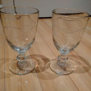 Beautiful Drinking Glasses - Brand New! (18 in total)