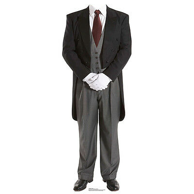 Butler Valet (ENGLISH BUTLER Valet Lifesize Stand-In CARDBOARD CUTOUT Standin Standup Standee)