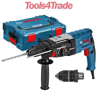 Bosch GBH2-28F SDS-Plus Rotary Hammer + Chuck L-Boxx 240v 0611267671