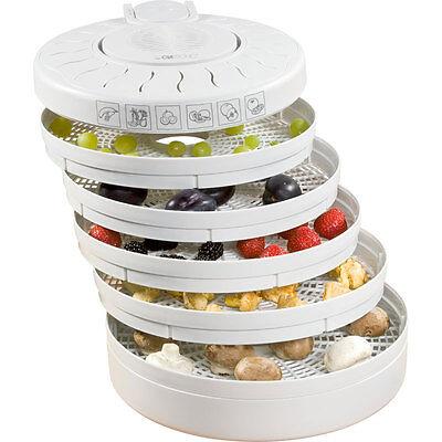 Clatronic DR 2751 - Deshidratador de alimentos, 5 bandejas, 250 W, color...