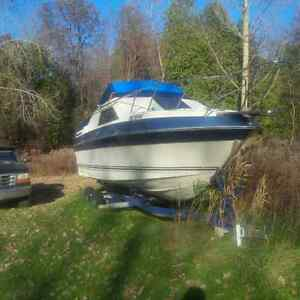 bayliner with trailer 1500 firm! London Ontario image 2
