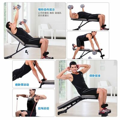 Adjustable SIT UP Abdominal Bench Press At Home Gym For Ab Exercise & Fitness, used for sale  Shipping to Nigeria