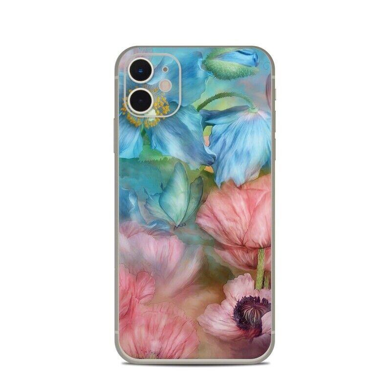 iPhone 11 Skin - Poppy Garden by Carol Cavalaris - Sticker Decal