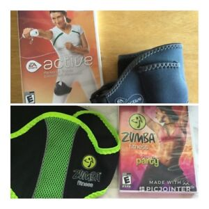 Kit Zumba Fitness ou Active entraineur personnel/15$ch