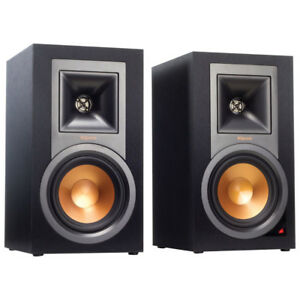 Klipsch Reference R-15PM Powered bookshelf speakers with Bluetoo