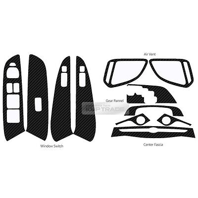 Car Interior Carbon Decal Sticker Set for HYUNDAI 2010-2015 Tucson