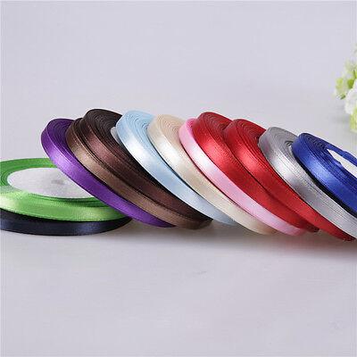 Nice Multicolor Beautiful Satin Ribbon Craft 3/8