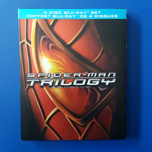 Used, SPIDER-MAN TRILOGY 1 2 3 SAM RAIMI TOBY MAGUIRE BLU-RAY BOX SET for sale  Edmonton