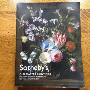 Sotheby's Old Master Paintings New York Januaury 26 2007