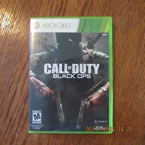 XBOX 360 Call of Duty Black Ops Peterborough Peterborough Area image 1