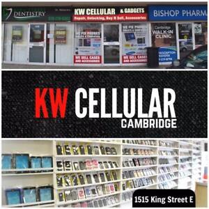 KW CELLULAR - Phone & Tablet Repairs - 1515 King Street E, Cambridge