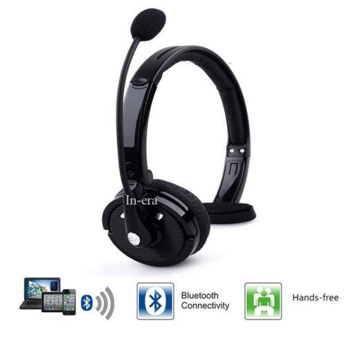 Wireless Bluetooth Car Headset Noise Cancelling Truck Dri...